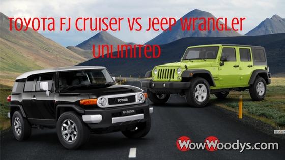 Jeep Wrangler Unlimited VS Toyota FJ Cruiser
