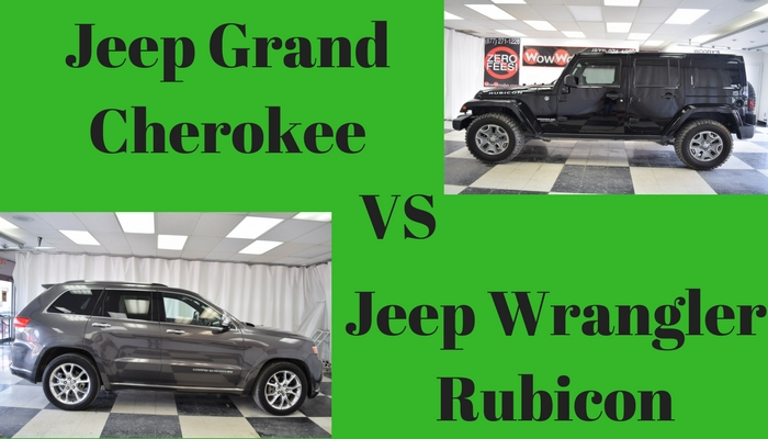 jeep grand cherokee vs jeep wrangler unlimited. Black Bedroom Furniture Sets. Home Design Ideas