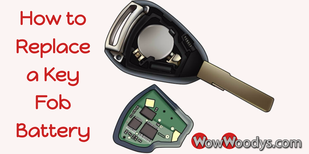 How to Replace a Key Fob Battery