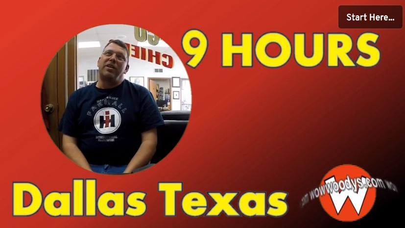 Jimmy Stewart drove 9 hours from Dallas Texas to purchase his Dodge Charger!