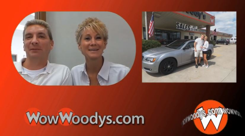 Vicky and Jason drove from Lees Summit, MO to purchase their Chrysler 300 at WowWoodys!