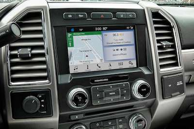 2018 Ford F-250 Navigation