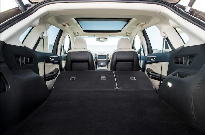 Ford Edge Titanium Interior