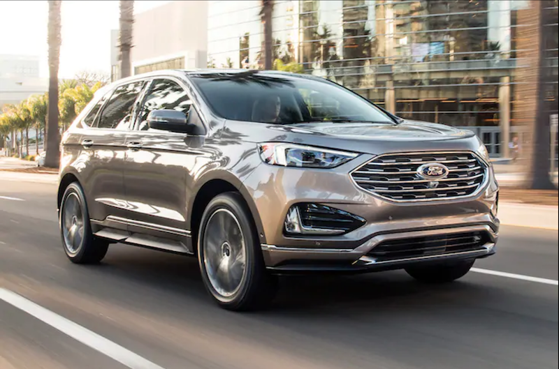 Ford Edge Titanium Package