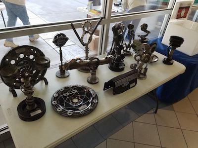 Old car parts