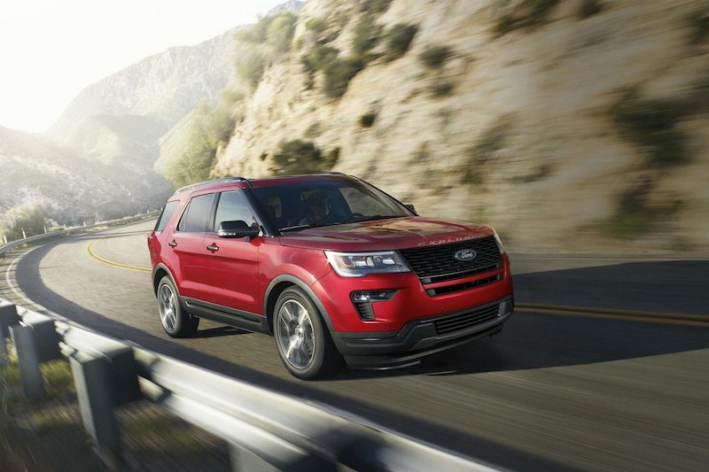 2019 Ford Explorer Near Aztec
