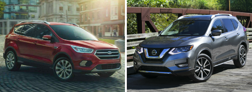 2018 Ford Escape vs 2018 Nissan Rogue