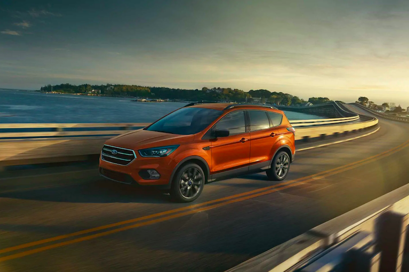 2019 Ford Escape Trim Options