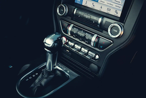 2019 Ford Mustang Console