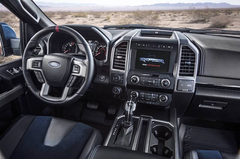 2019 Shelby Baja Raptor Interior