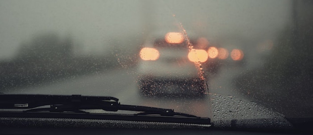Streaky-windshield