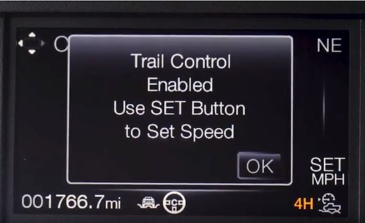Ford Raptor Trail Control