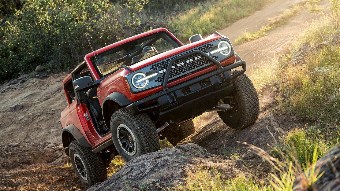What is the New 2021 Ford Bronco H.O.S.S. Suspension?